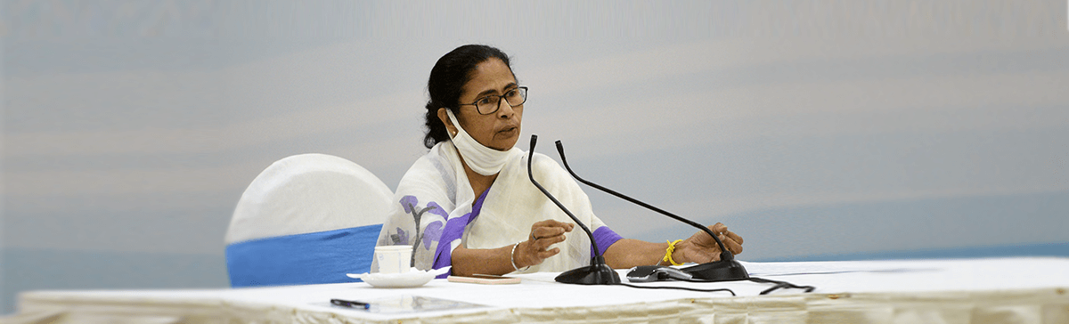 Hon'ble CM Mamata Banerjee encouraging people to stay home and stay safe from COVID-19